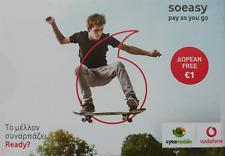 Cyprus Sim Card -  Cytamobile-Vodafone Soeasy Connection Pack 2