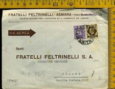 Italia Colonie Occupazione Inglese Africa Eritrea f 769