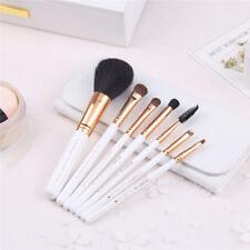 Brand New White ZOREYA 7pcs Pony Hair Cosmetic Makeup Brush Set