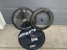 Zipp 808 NSW Carbon Clincher F / Super 9 Carbon Clincher Disc R With Cassette