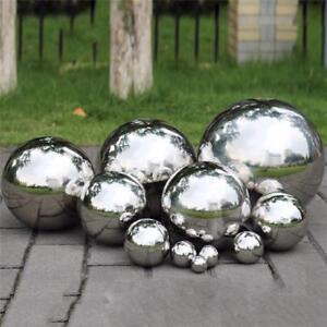 Stainless Steel Mirror Sphere Hollow Garden Decoration Gazing Ball 120 200mm