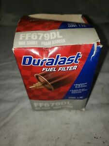 Duralast Fuel Filter FF679DL 84-97 Ford/Lincoln/Mercury 2.3L