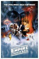 "STAR WARS THE EMPIRE STRIKES BACK (PART V) - MOVIE POSTER - 91 x 61 cm 36"" x 24"""