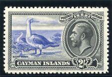Cayman Islands 1935 KGV 2s ultramarine & black MLH. SG 105. Sc 94.