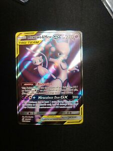 Pokemon - Mewtwo & Mew Tag Team GX - 222/236 - Full Art - Unified Minds