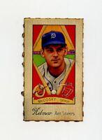 RARE HELMAR Baseball Card: #334 BARNEY MCCOSKY Detroit Tigers SCARCE