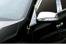 New Chrome A Pillar Cover Molding 4pcs K045 for Kia Sorento 2013-2014