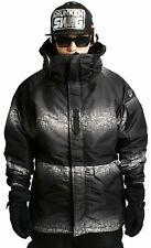 K-Fashion*Southplay Gradation 2tone Winter Waterproof Ski-Snowboard Jacket L