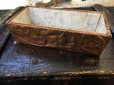 Vintage Copper Embossed House Plant Trough/Pot