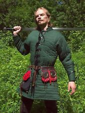 new Medieval Gambeson Theater year gifts Celtic Green Viking Armor Padded