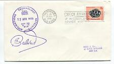 1970 Applications Satellite Technology Toowomba Space Cover SIGNED