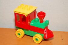 Lego Duplo Train parts Red Yellow Green