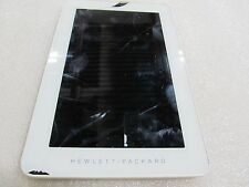 HP - 7 Plus Tablet - 8GB - Silver/White cracked screen *read (33047)