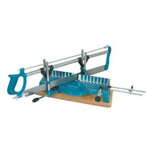 Silverline SW05 Precision Mitre Saw 550mm Woodworking Hand Tools