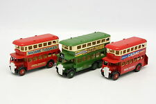 Days Gone LLedo 1/55 - Lot de 3 Bus à Imperiale London Bus B