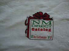 Vintage NOS Neiman Marcus NM Direct Catalog Christmas T Shirt XL