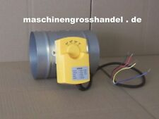 Absperrschieber NW100 Lüftungsschieber Luftschieber Absperrhahn elektrisch
