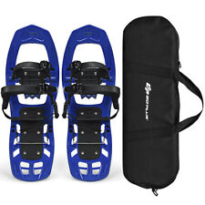 22 Inch Lightweight Snow Hiking All Terrain Snowshoes With Bag Anti Slip Black