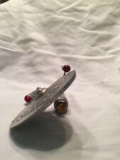 Franklin Mint Star Trek Pewter Enterprise Ncc-1701, No Stand