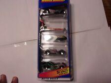 Hot Wheels 5 Pack Gift Pack ☆WORLD RACERS☆ (1998, Mattel) Item #21084
