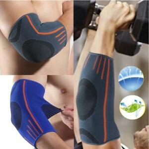 Elbow Support Tennis Golfers Elbow Arthritis Pain Brace Gym Sport Strain Belt UK