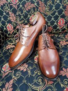 Allen Edmonds CORSICO Plain Toe Lace Up Casual Business Dress Shoes Size 9.5D