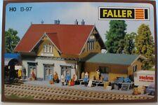 KIT stazione di servizio epoca II Faller 131369 h0 Nuovo