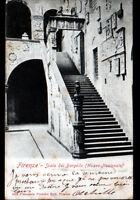 FIRENZE (ITALIE) SCALA del BARGELLO avant 1904