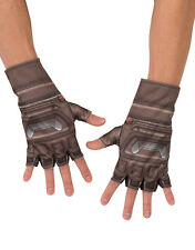Captain America Gloves, Mens Avengers Age Of Ultron Costume Accessory, one size