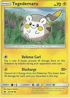 POKEMON SUN & MOON CARD: TOGEDEMARU - 53/149