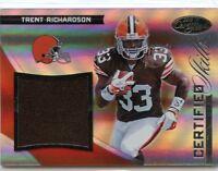 Trent Richardson 2012 Panini Certified Skills Rookie Materials Relic #D /299