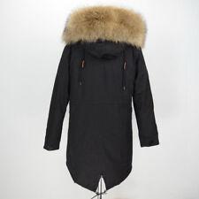 2020 Long Style Parka Parker Real Fur Collar Lined Coat Women Warm Jacket 31544