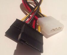 BRAND NEW 4 Pin IDE Molex to 2 SATA Power Cable Splitter Adapter AUS Stock