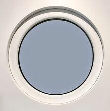 Rundfenster Bullauge rundes Fenster rund fest 70mm Rahmen alle Größen