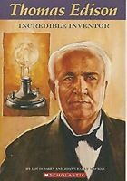 Thomas Edison: Incredible Inventor Por Sabin , Louis