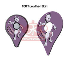 Pokemon GO Plus 2 PCS of Mewtwo Top Cover Leather Skin Stickers Accessory
