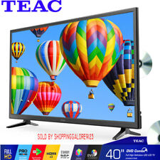 "TEAC 40""  Inch TV FHD LED LCD DVD Player COMBO PVR Function 3x HDMI Pause LiveTV"