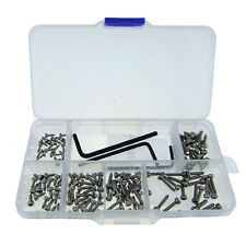 123pcs M2/M2.5/M3 Stainless Steel Inner Six Angle Screws Set + Screwdriver D026