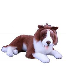 """BNWT - Bocchetta Australian Border Collie Dog """"Fudge"""" Brown Toy 62cm/24inch"""