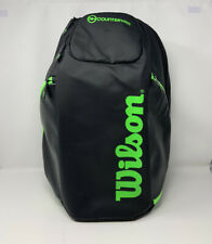 Wilson Countervail Tennis Racquet Gear Bag Backpack Large ~ Mint