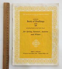 Original Dress Sewing Patterns 1940/50's Fashion HASLAM Book of Draftings No 38