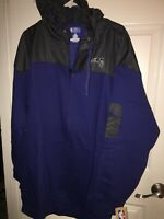 New With Tags Mens Orlando Magic Zip up Hooded Coat jacket 3xl