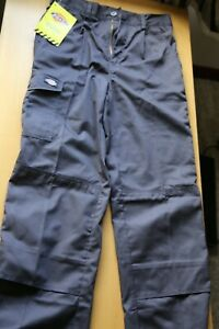 The Dickies WD884 Redhawk Super Work Trousers size 30T Grey