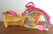 My Little Pony  2007 Ponyville Rainbow Dash House w/1 Pony, Table & Vase