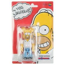 Medicom BE@RBRICK The Simpsons Homer Simpson 100% Bearbrick Figure