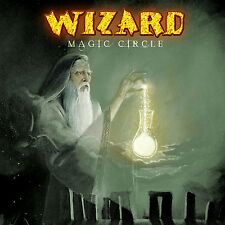 WIZARD - Magic Circle Ltd. Digipak CD 2005 + Bonus Tracks + Poster + Sticker