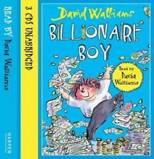 Billionaire Boy by David Walliams | Audio CD Book | 9780007426065 | NEW