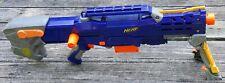 Nerf N-Strike Blue Longshot CS-6 Long Shot Bolt Action Blaster Gun w/ Clip