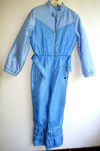 Skianzug Glanznylon Oldschool shiny nylon ski suit Schneeanzug Skioverall 80er