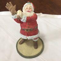 "Hallmark - Heirloom Santa Collection - Starting Out 1990  6"" figurine christmas"